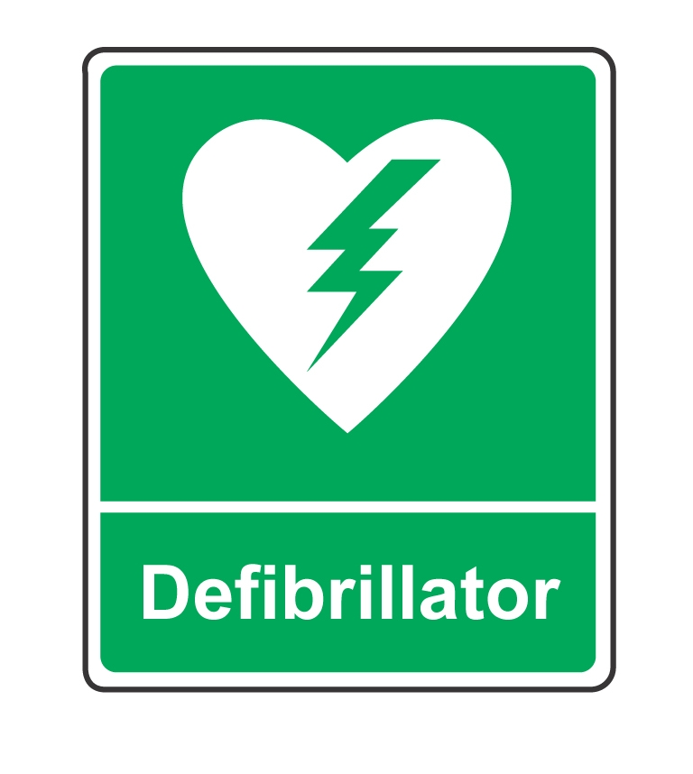 State of the art defibrillator at our practice ashford for De signs