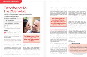 Orthodontics for adults - Dear Doctor Magazine