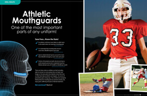 Athletic Mouthguards - Dear Doctor Magazine